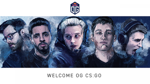 OG Counter-Strike Global Offensive announcement